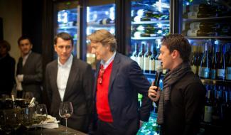 Открытие ресторана DiVino. Пресс-конференция